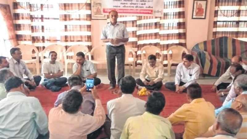 Ujjain: SAPAKS protests reservation in promotion