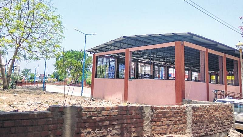 Ujjain: Residents oppose construction of anganwadi on land allotted for park