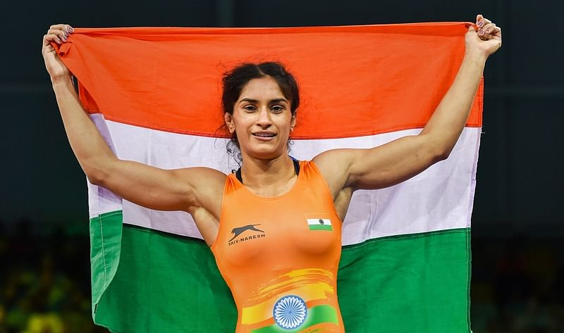 Vinesh Phogat in final; Pooja Dhanda, Sakshi Malik bag medals