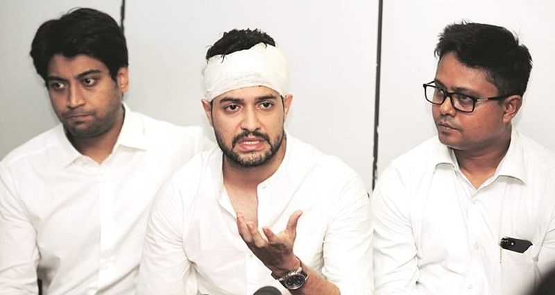 Actor Vikram Chatterjee appears for questioning