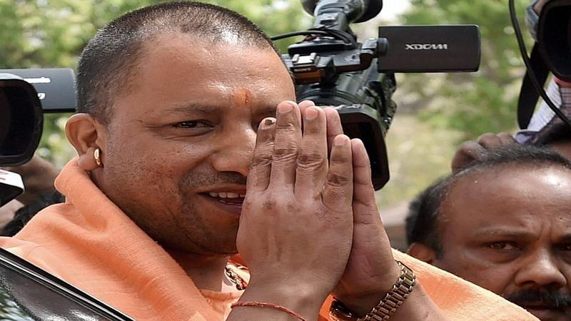 Ayodhya: Yogi Adityanath offers prayer at Ram Janmabhoomi