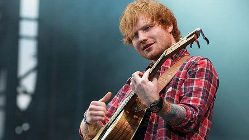Ed Sheeran dines at Asha Bhosle's restaurant in Manchester