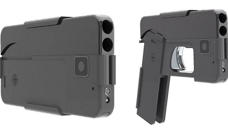 Real $500 gun disguised as smartphone