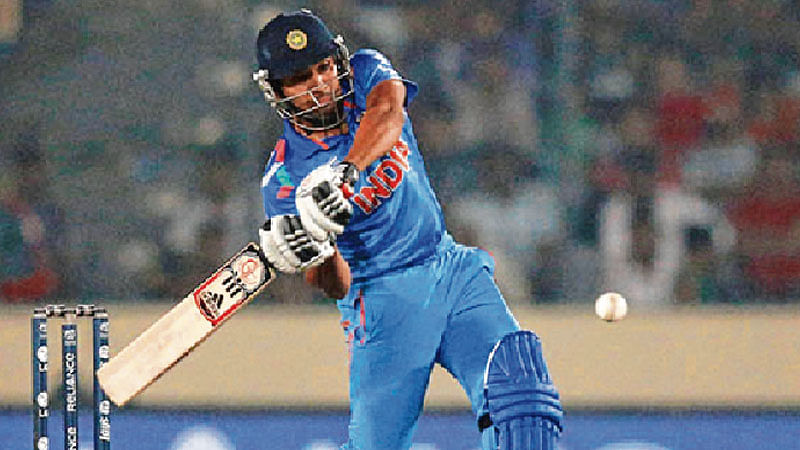 Rohit set to get some time at top