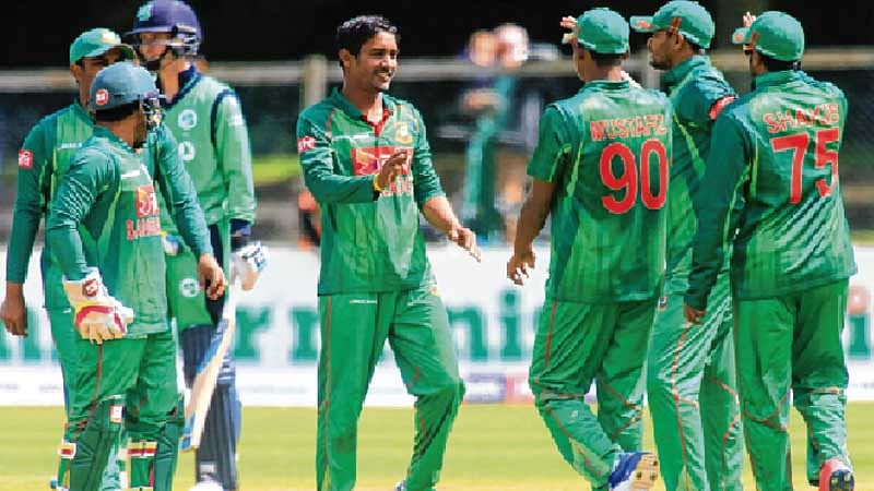 Bowlers get Bangladeshi captain's seal of approval