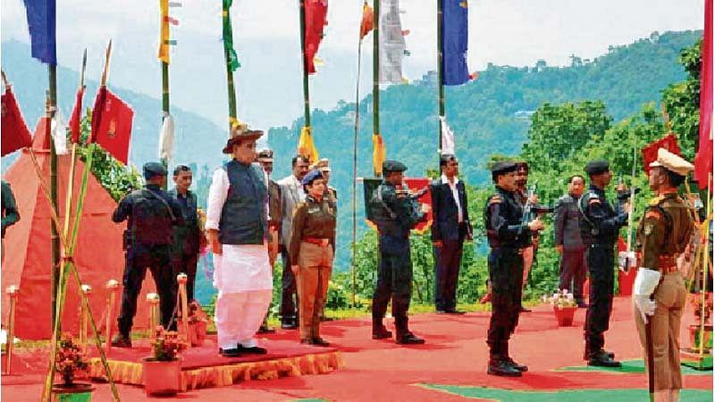 Kashmir is ours, says Rajnath; promises permanent solution