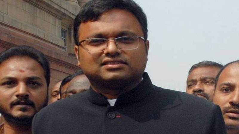My father will be back home soon: Karti Chidambaram