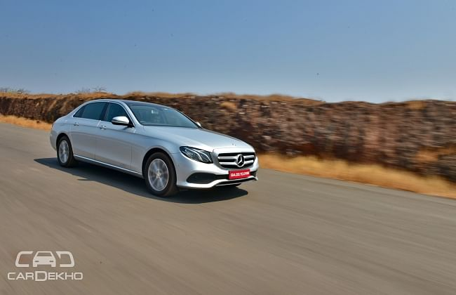 Mercedes-Benz E 220d Launching on June 2, 2017