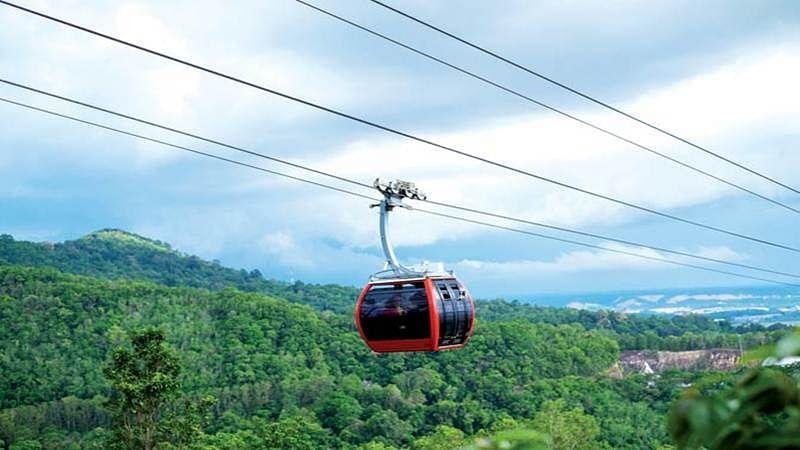 Mumbai: Travel on ropeway from Neral to Matheran in 20 mins