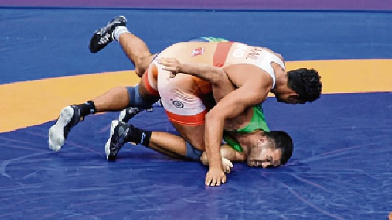 Anil, Jyoti bag bronze for India