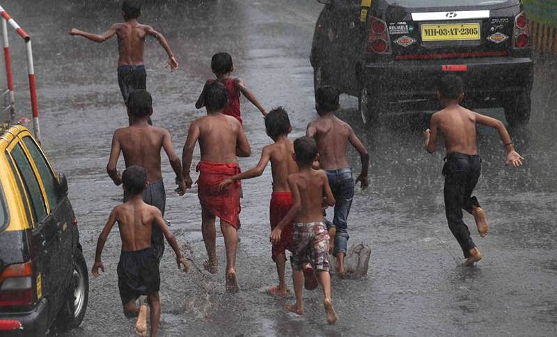 Mumbai is likely to receive some heavy showers in the next couple of days