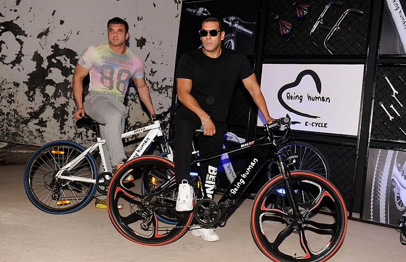 Salman Khan introduces Being Human e-bicycle, price starts from Rs 47,000