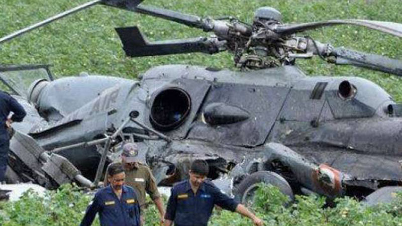 Engineer killed, pilots injured as chopper crashes in Badrinath