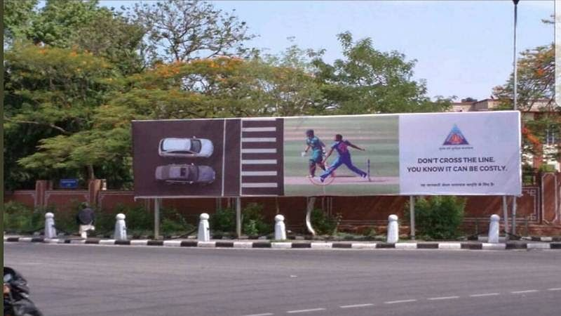 Jaipur Police uses Bumrah's no-ball example for road safety, bowler not impressed