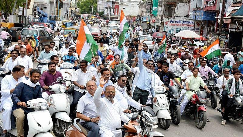 Rahul headed to MP; Collector, SP of Mandsaur transferred