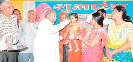 Ujjain: Door-to-door campaigning against malnutrition