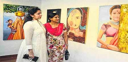 Bhopal: Female artists' painting exhibition 'Udaan' begins