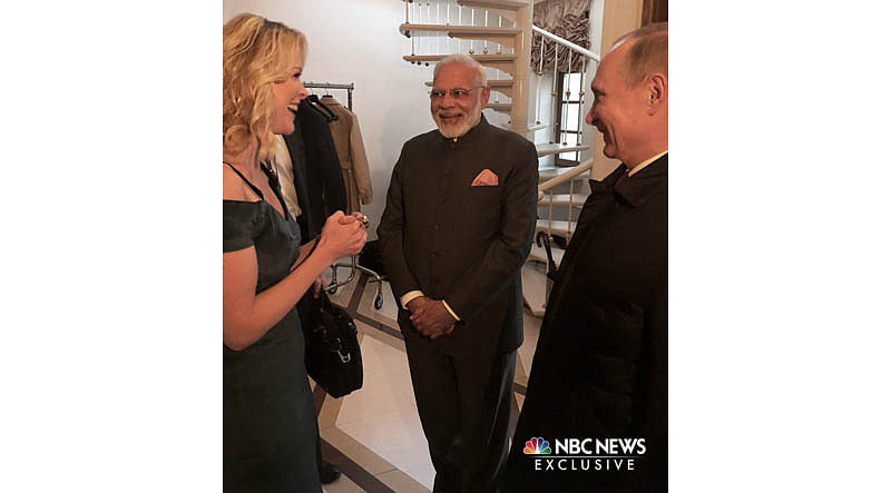 Are you on Twitter, US journalist asks Narendra Modi