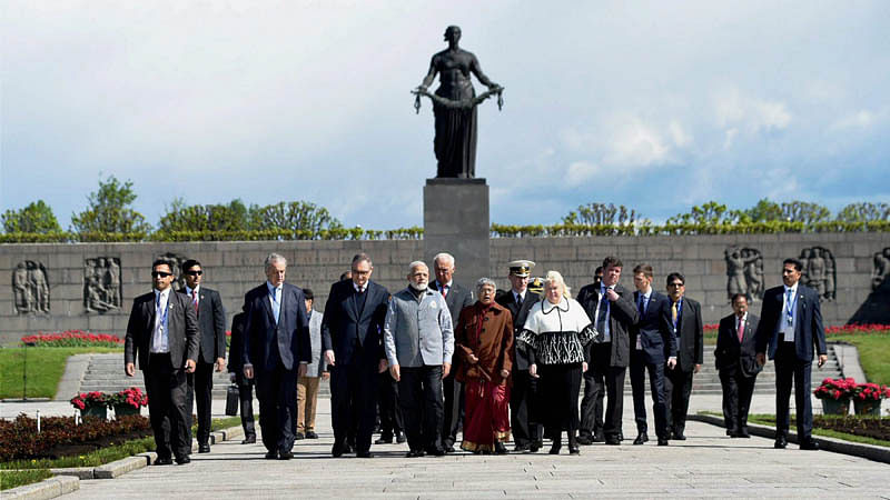 Modi touches Putin's emotional chord