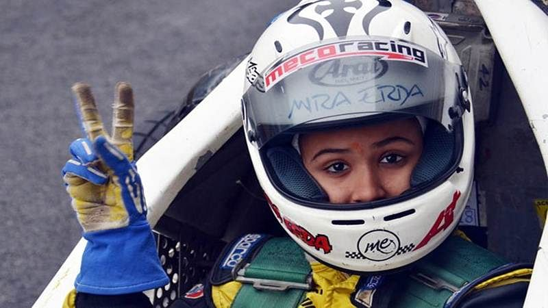 Mira Erda becomes first female Indian driver to race in Euro JK series