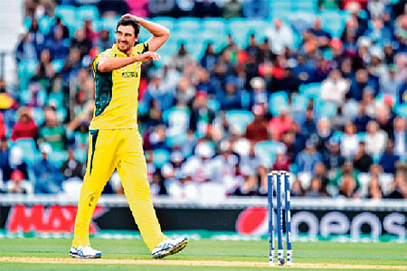 Starc too much for Bangladesh