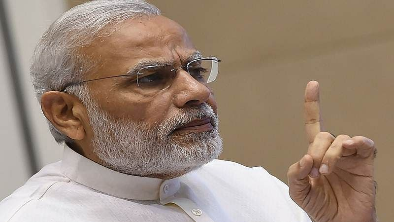 Cong destroying nation to save a dynasty: Modi
