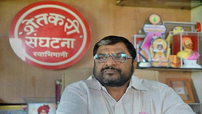 Raju Shetti opposes Maharashtra government's decision to impose development tax on sugarcane farmers
