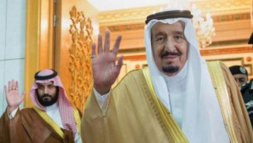 Saudi King ousts nephew, names son as his successor