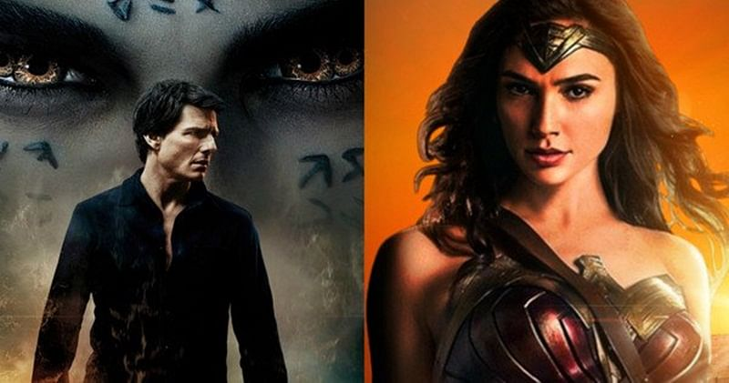 US Box-Office: 'The Mummy' misfires, 'Wonder Woman' still going strong