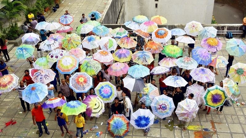 Transform your umbrella in an art piece at this workshop