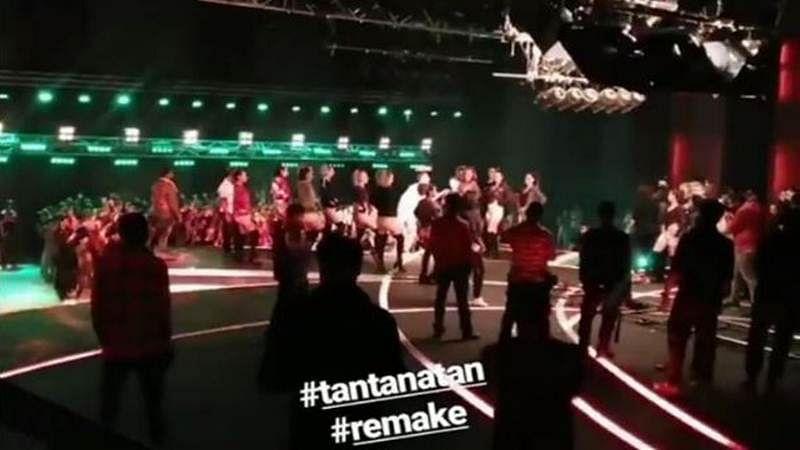 Judwaa 2: Varun, Taapsee and Jacqueline Fernandez shoot for the hit song 'Tan Tana Tan'
