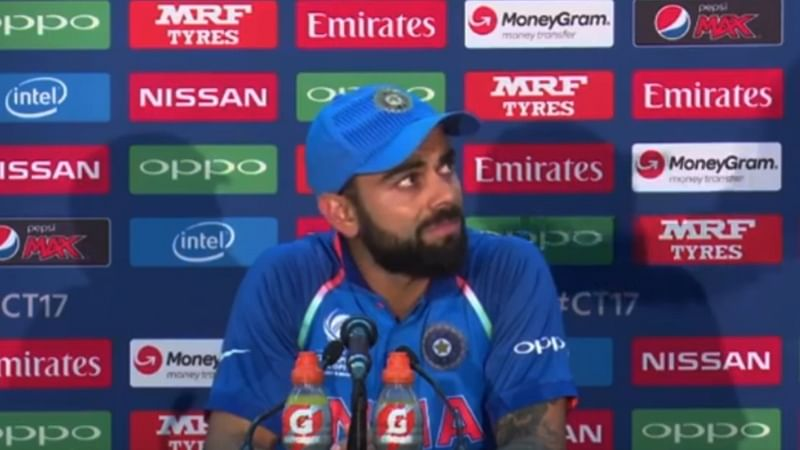 Must Watch: How reporter's hilarious questions leaves Virat Kohli stunned
