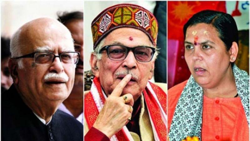 Babri Masjid case: Court exempts Advani, Joshi, Bharti from personal appearance