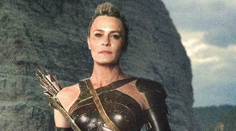 Robin's General Antiope in Justice League