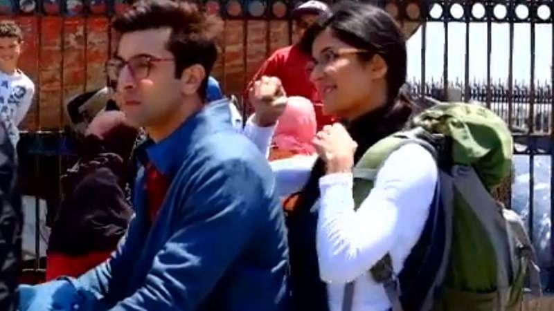 Katrina keeps troubling Ranbir Kapoor in this Jagga Jasoos behind the scene video