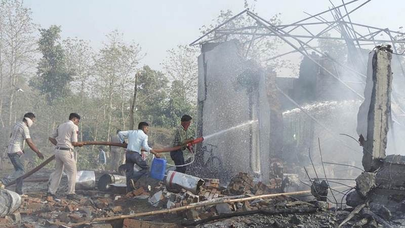 MP cracker factory fire: Death toll rises to 25