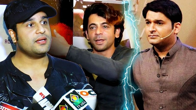 Comedy Fights: Sunil Grover, Ali Asgar to collaborate with Kapil Sharma's rival Krushna Abhishek