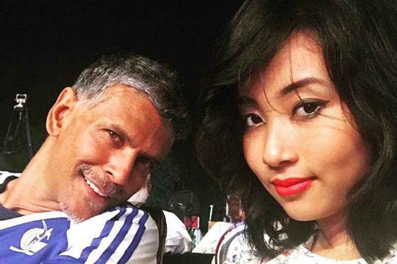 In pictures: Love is in the 'air' again for Milind Soman, quite literally!