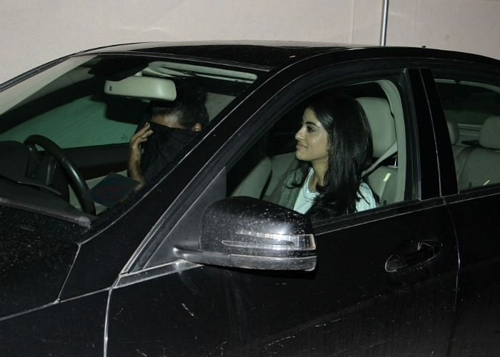 Amitabh Bachchan's granddaughter Navya Naveli spotted with mystery boy on movie date