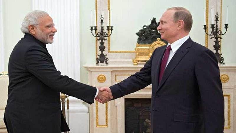 Modi gets very personal with Putin