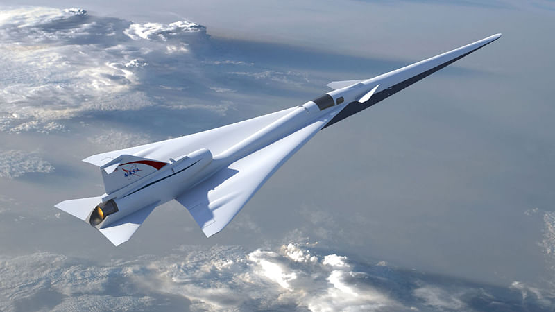 NASA a step closer to building quieter supersonic X-plane