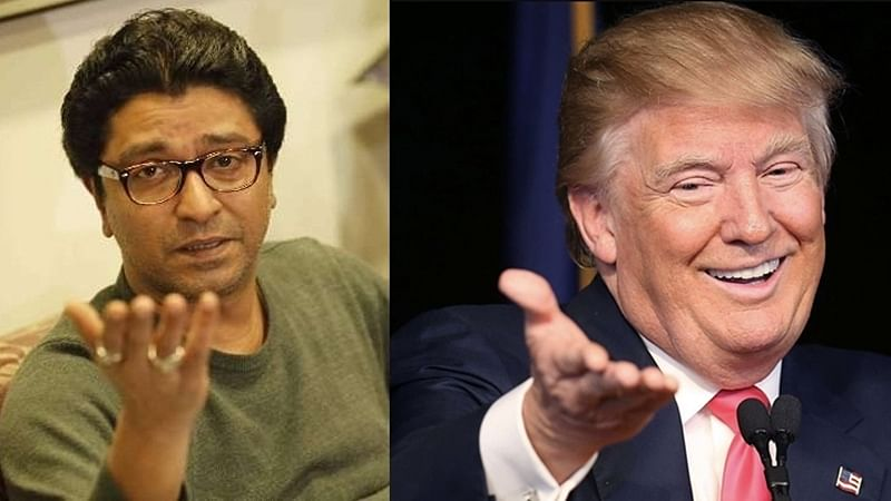 You will be surprised to know these similarities between Raj Thackeray and Donald Trump