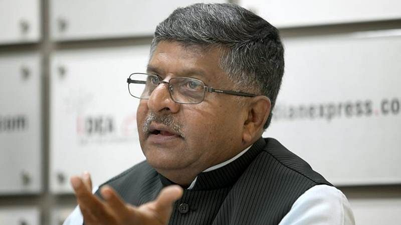 "News Alert! Committee submits its report on ""Data Protection Framework"" to Ravi Shankar Prasad"
