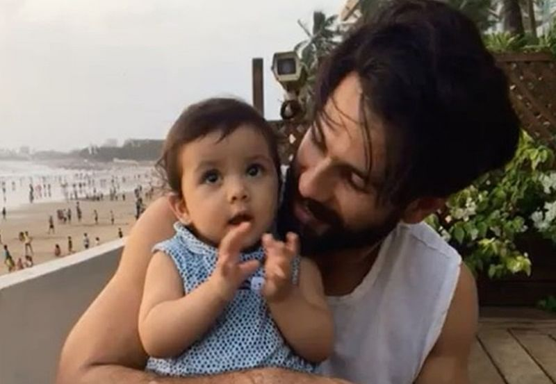 Shahid Kapoor is the ideal father; here's the proof