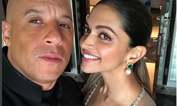 All love: Vin Diesel shares throwback picture with Deepika Padukone