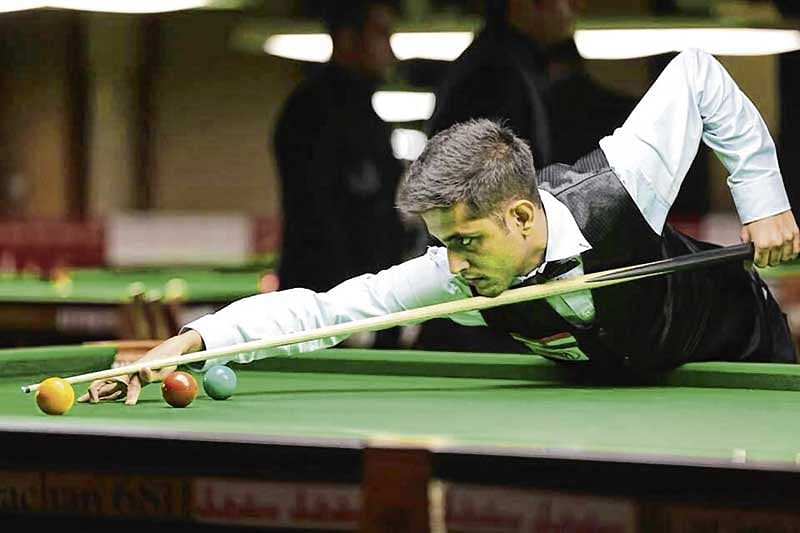 Rahul Sachdev sets the ball rolling with a fine 109 break