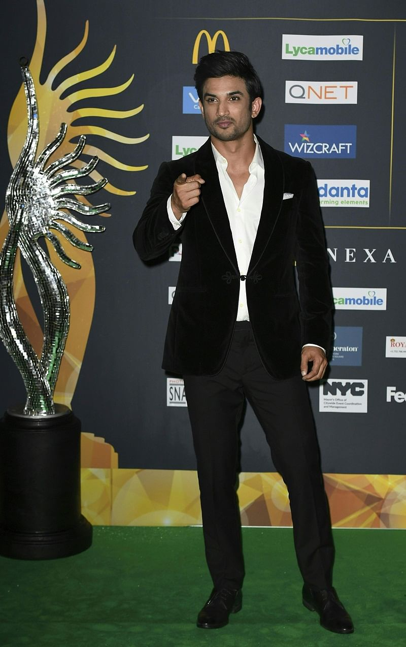 Bollywood Actor Bollywood Actor Sushant Singh Rajput arrives for IIFA Rocks July 14, 2017 at the MetLife Stadium in East Rutherford, New Jersey during the 18th International Indian Film Academy (IIFA) Festival. / AFP PHOTO / ANGELA WEISS