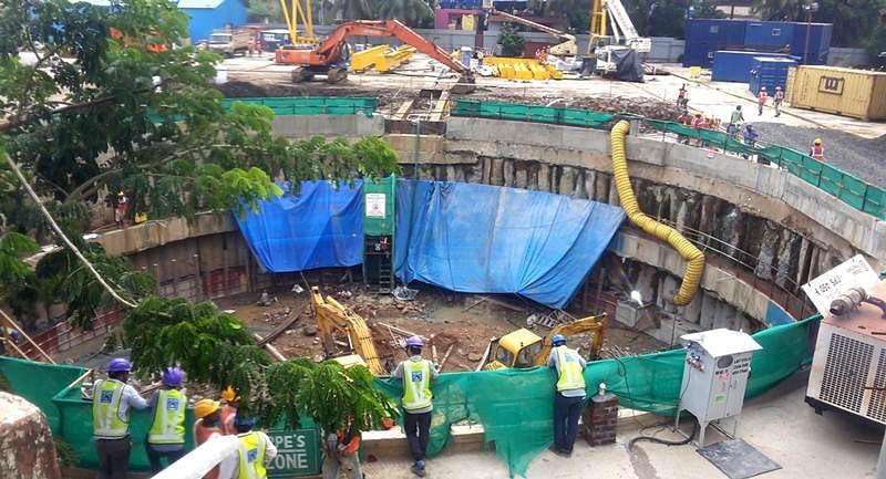 Exclusive pictures: Mumbai Metro 3 underground work
