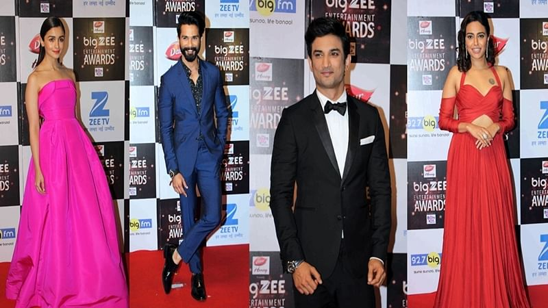 Big Zee Entertainment Awards 2017: Shahid Kapoor, Alia Bhatt win Best Actor awards for 'Udta Punjab', again!