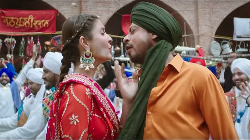 Butterfly song from 'Jab Harry Met Sejal' out! Shah Rukh Khan in a never seen before avatar